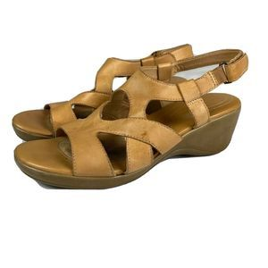 Naturalizer Sandals Leather Tanner Strappy  Tan